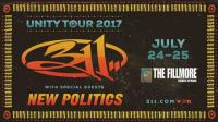 The Unity Tour - 311 w/ New Politics